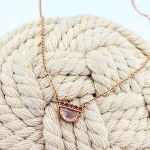 Tiny Rose Gold Necklace